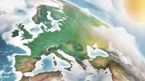 3D World Maps and Infographics  - Europe EU
