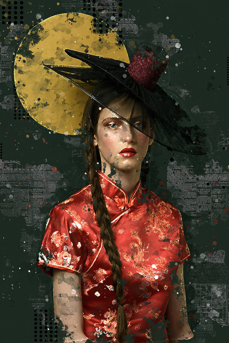 Editorial Mixed Media FX - Photoshop Add-On Action by Giallo86 on