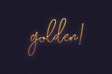 Free Epic Gold Photoshop Text Logo Effect by Giallo86