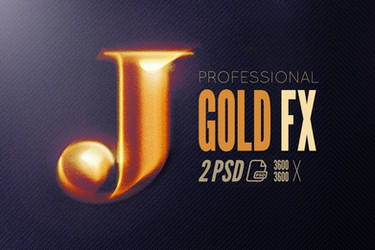 Free Epic Gold Photoshop Text Logo Effect