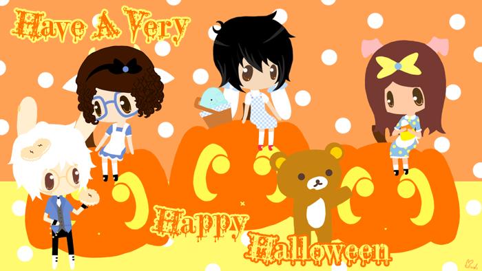 Happy Halloween by ishoji