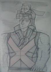 XMEN: Colossus and Negasonic Teenage Warhead by RiverZabala2014