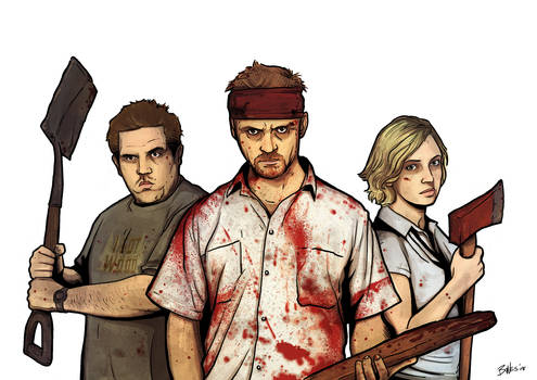 SHAUN OF THE DEAD LAYER 1