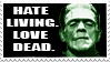 frankenstein stamp by mister-bones