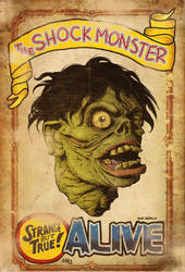 THE SHOCK MONSTER by mister-bones