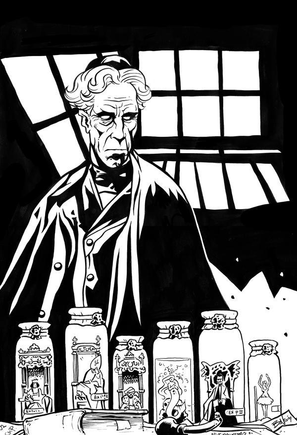 DR. PRETORIUS by mister-bones