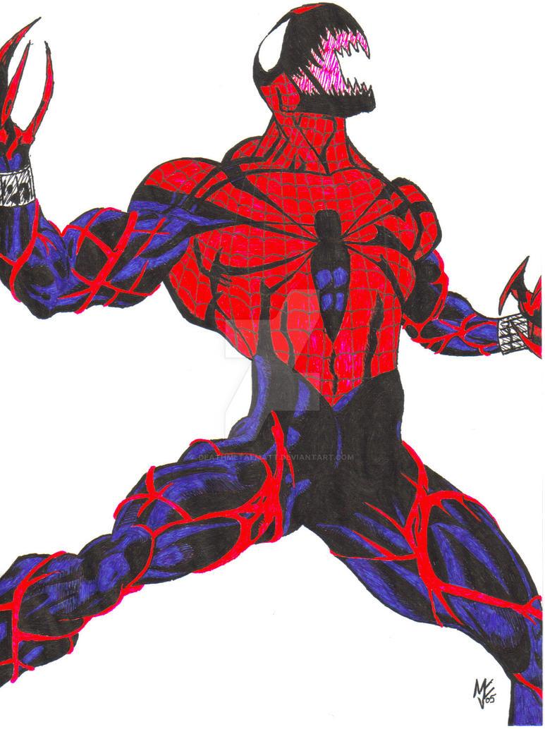 Spider-Carnage by DeathMetalMatt on DeviantArt