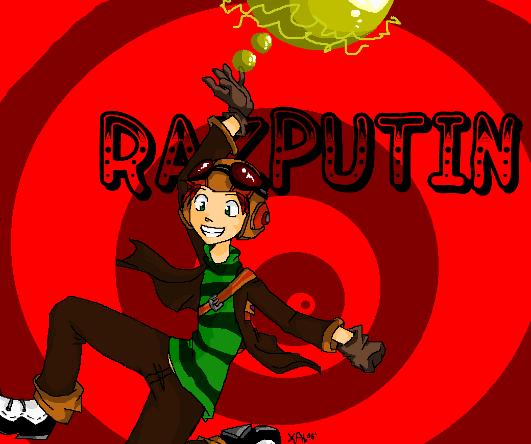 PsychoNauts: RAZPUTIN by IrregularChild