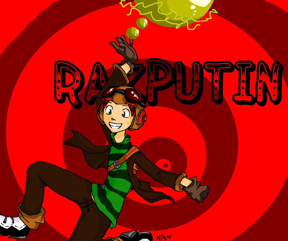 PsychoNauts: RAZPUTIN by IrregularChild