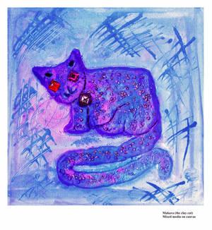 Makara  - the clay cat