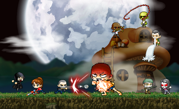 left4dead maplestory chars. by darthmitten
