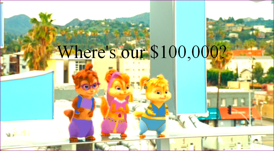 The Chipmunk Adventure Question About Money By