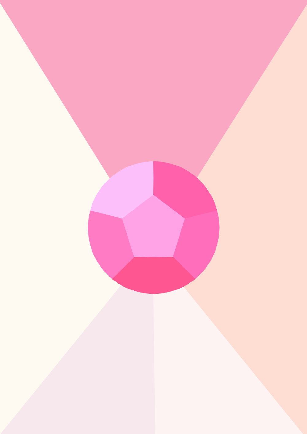 Su Minimal Wallpaper Rose Quartz By Musictechgirl1 On