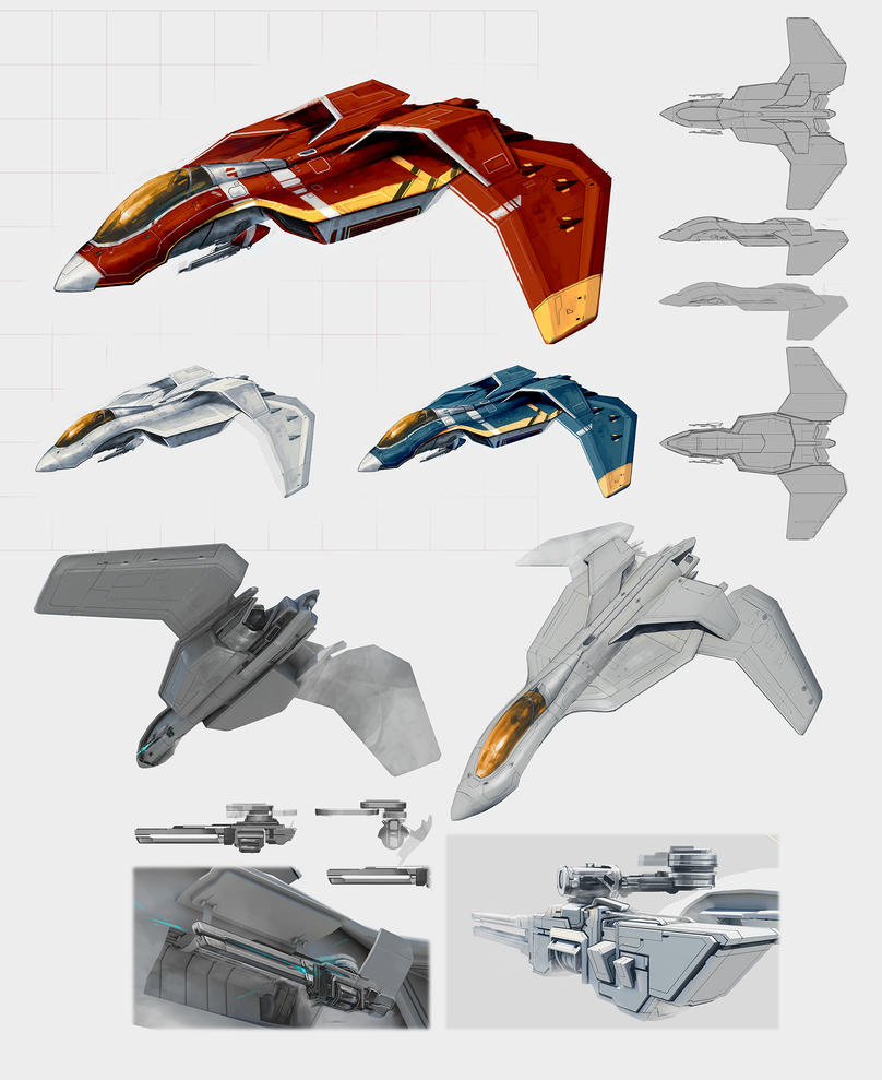 pew pew concepts by softmode