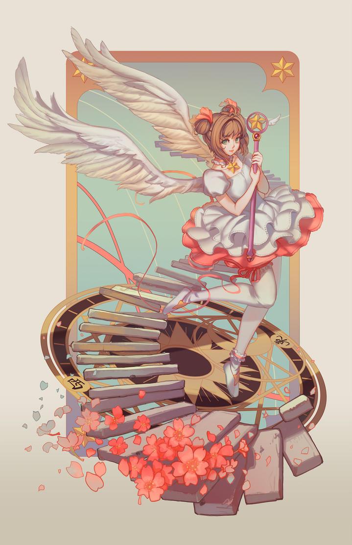 Kinomoto Sakura by softmode