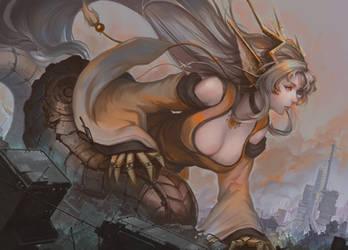 Commission: Mecha Ryu