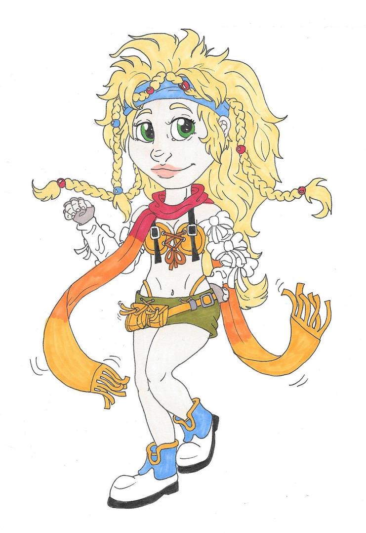 Rikku Chibi by CaptainKPeanuts