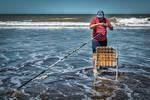Pescador en Gesell