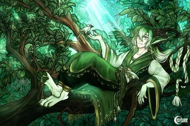 Waldeinsamkeit by Cerylune