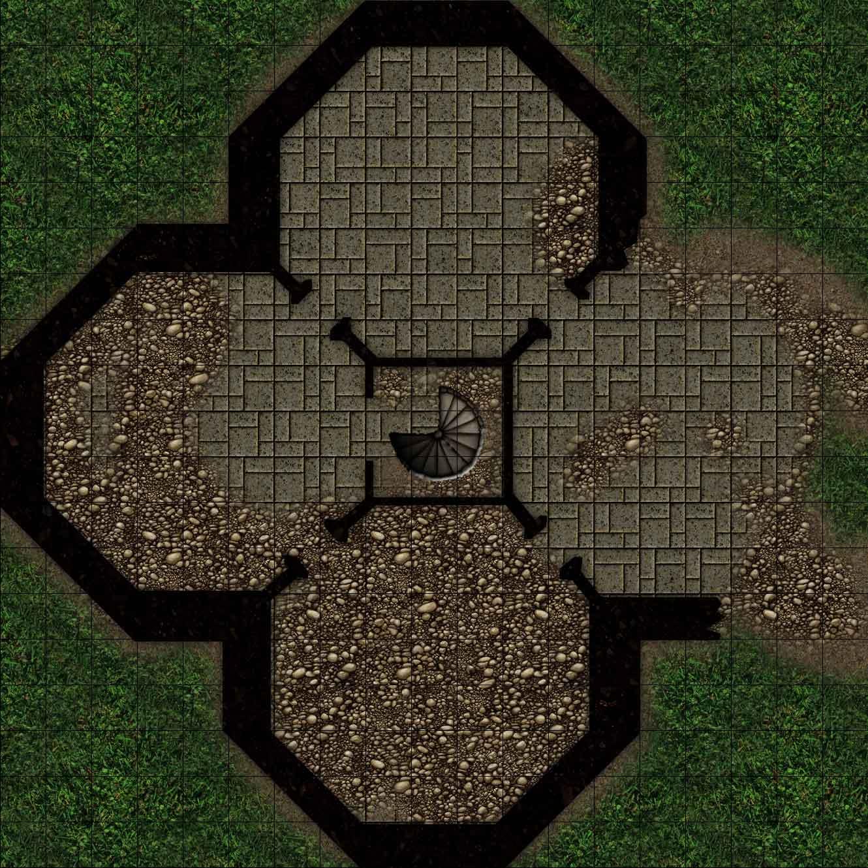 Fallen Fortress 1st Floor by r0tzl0effel