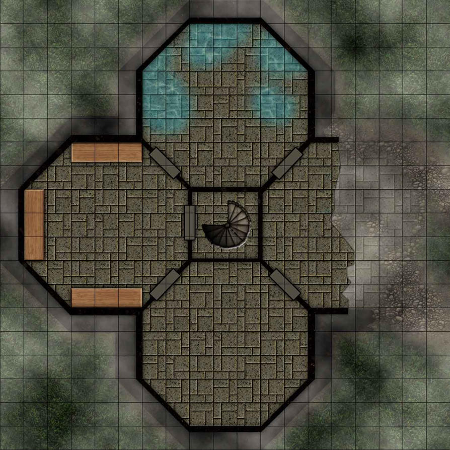 Fallen Fortress 2nd Floor by r0tzl0effel