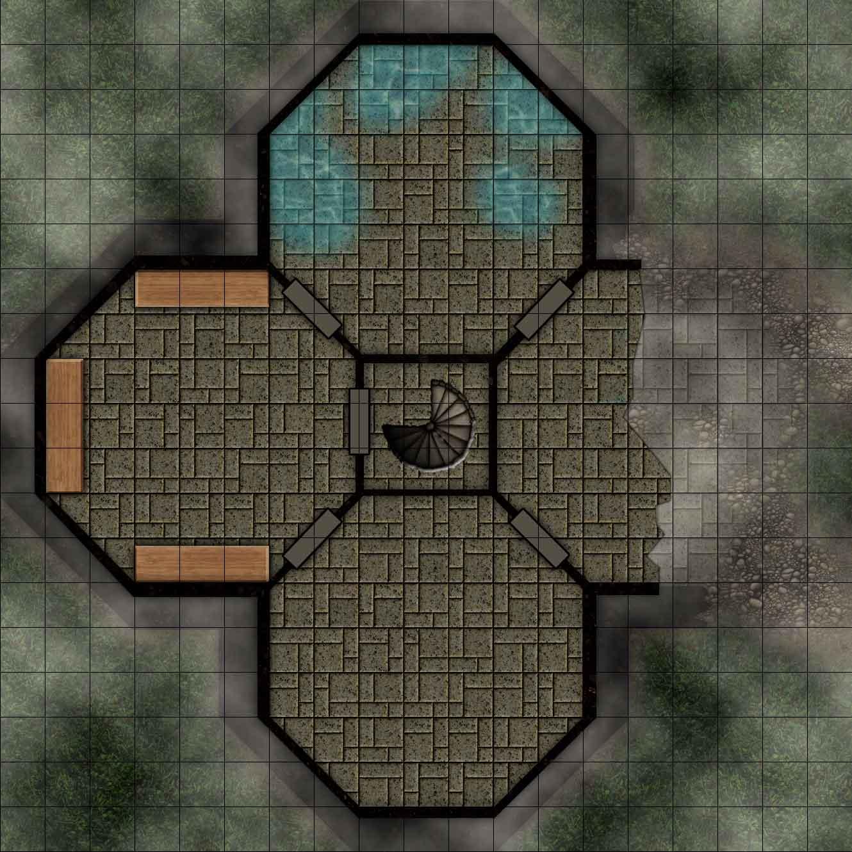 Fallen Fortress 2nd Floor