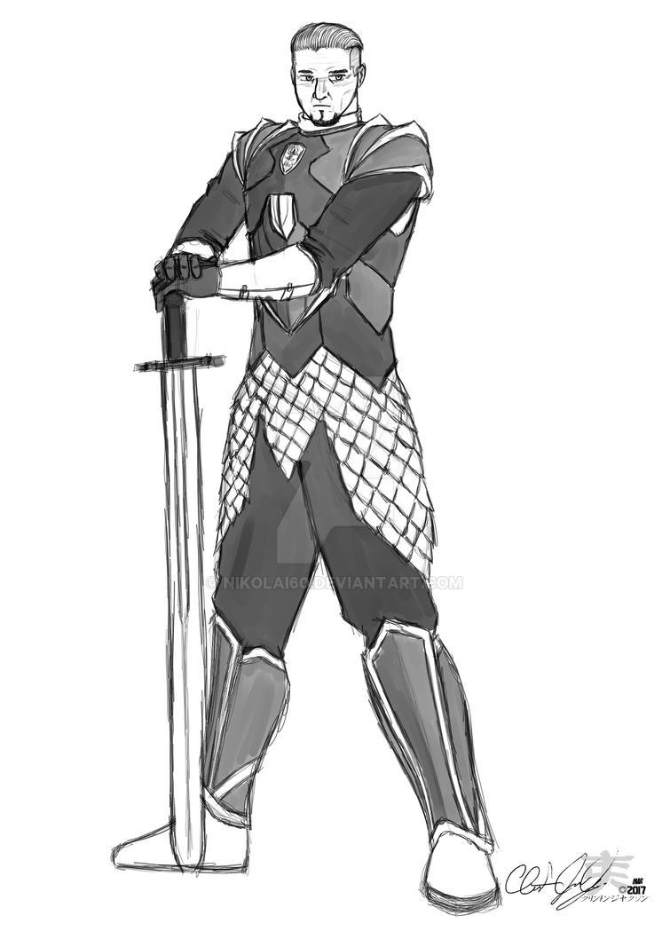 Sir Avan - The Lieutenant by nikolai60