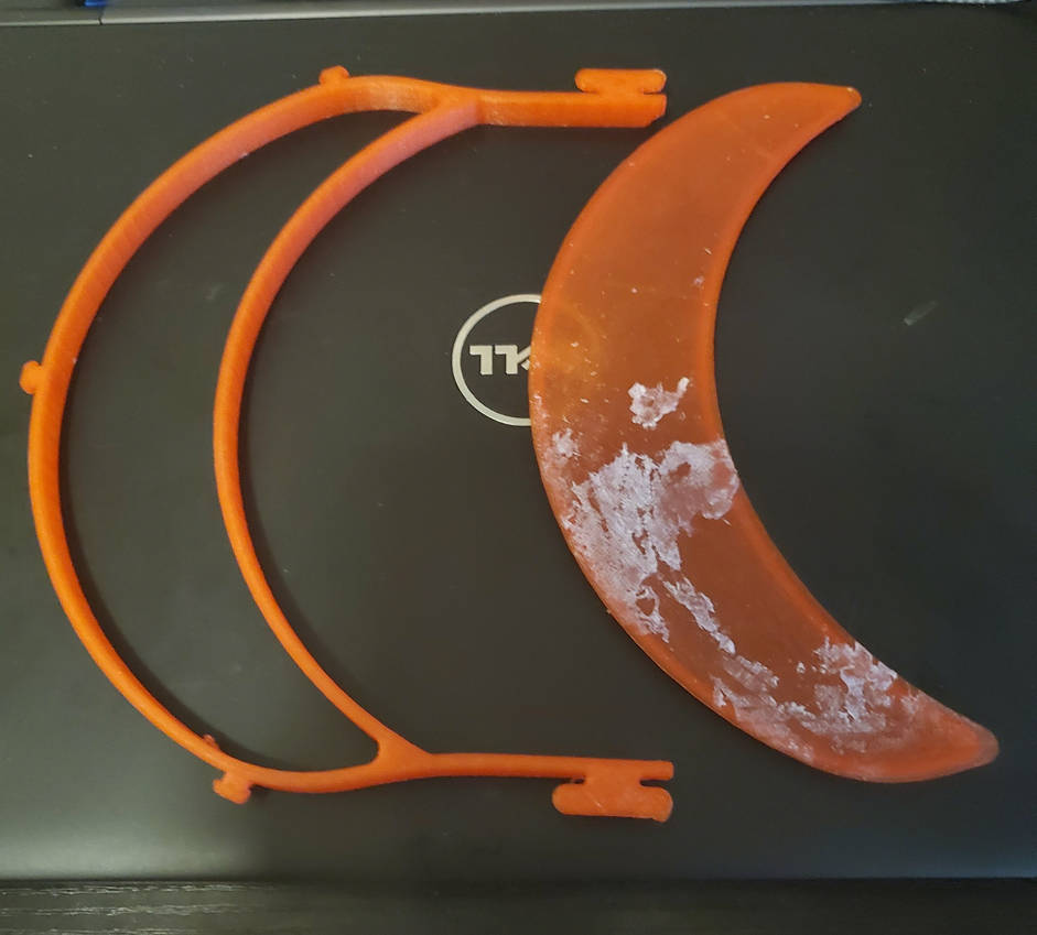 Face Shield Parts by nikolai60