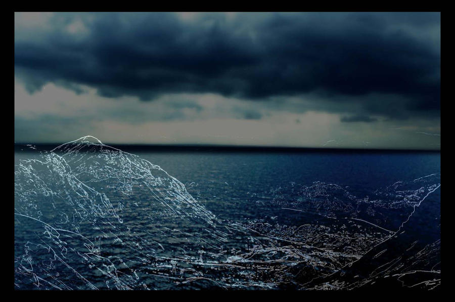 water and sky by Ealin