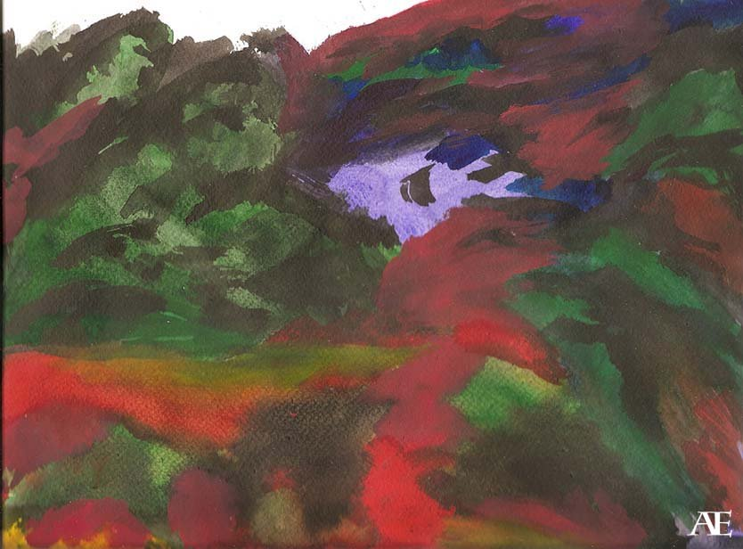 landscape II by Ealin