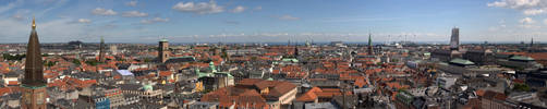 Copenhagen panorama by hjkiddk