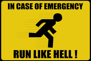 Warning sign by hjkiddk