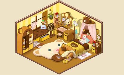 Bed Room by AkiiraYukii