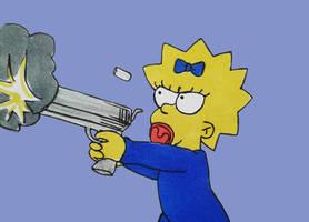 Baby's got a gun by rai-kami