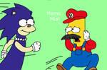 Sonic Lisa and Super Bart