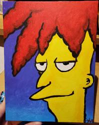 Sideshow bob painting by Ikatsui129