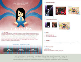 chix0r journal layout by LineBirgitte