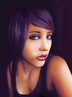 Lavender Lilly by LineBirgitte