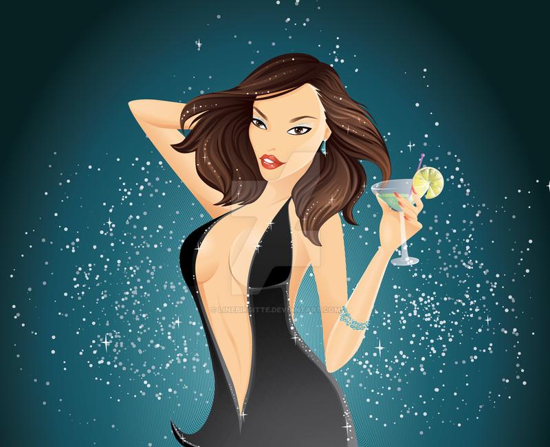 Glamour Girl for Harleshinn by LineBirgitte on DeviantArt