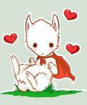 Super Albino Llama