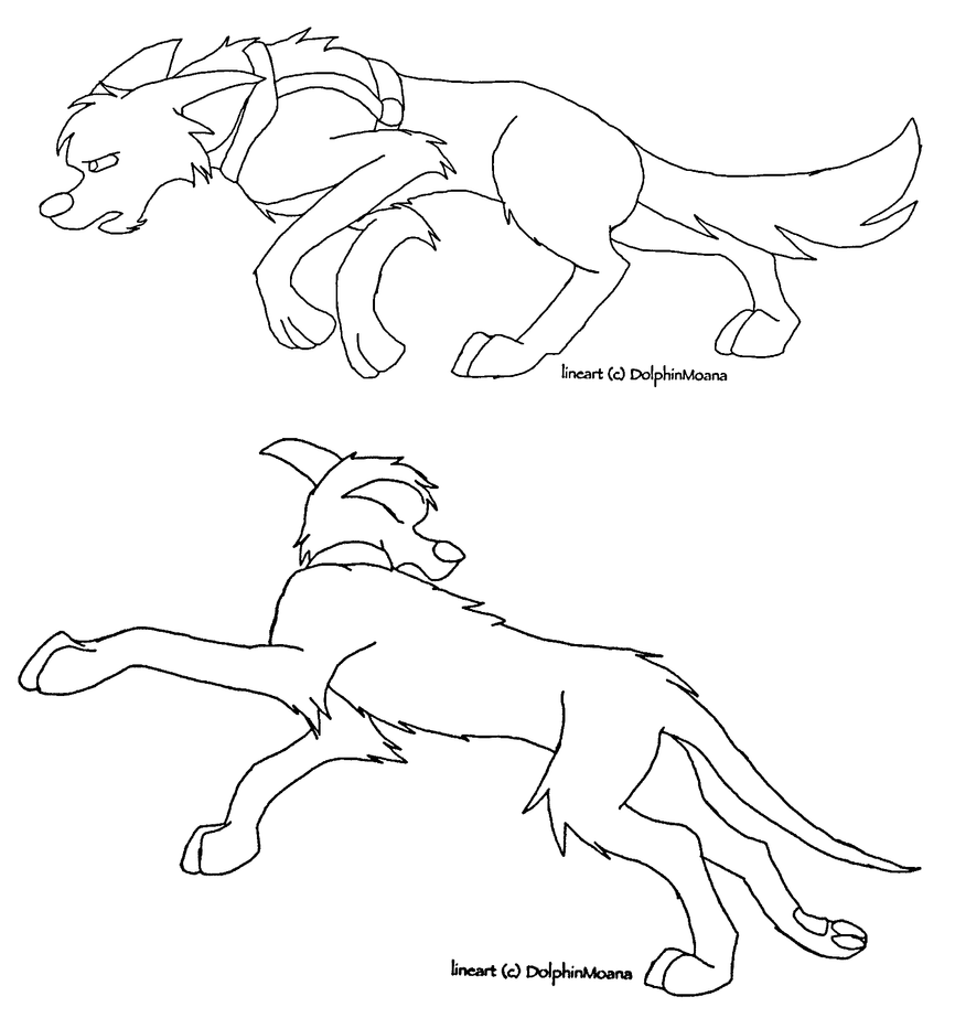 dog running coloring pages - photo#19