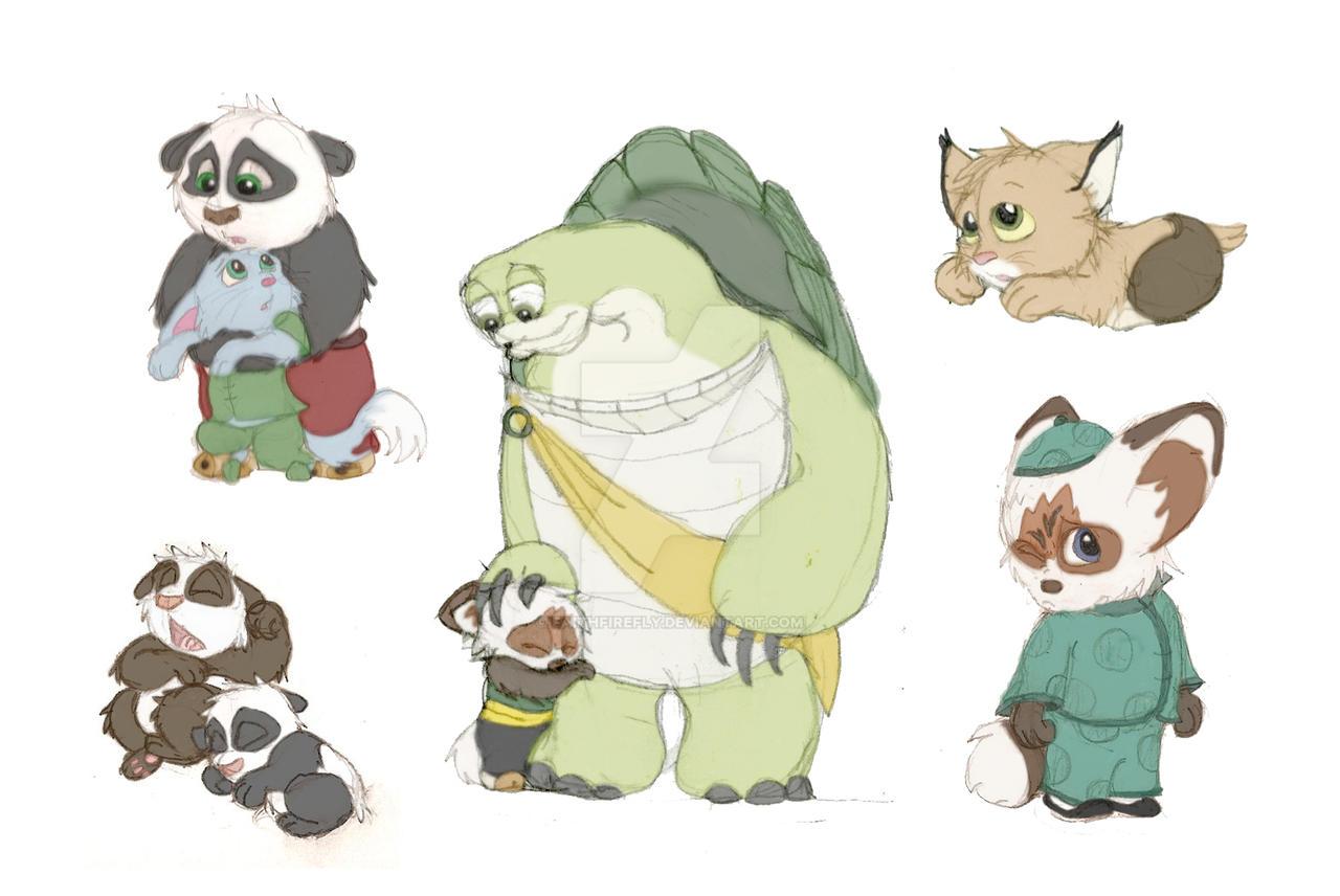 RP Sketches - Kung Fu Panda by FaithFirefly