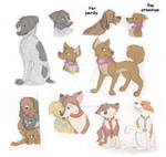 Dogified Cars 2 Sketches