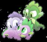 Pearl, Spike, and Smokey