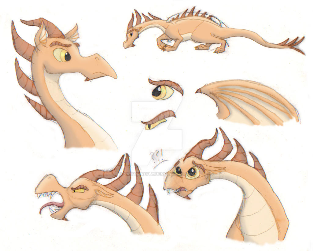 Dragon Aegeus by FaithFirefly