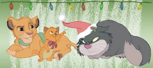 DD Secret Santa 2014 - Christmas Kitties