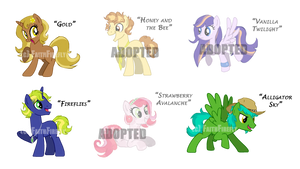 Owl City Inspired MLP Adopts (OPEN)