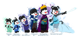 Frozen/Animaniacs AU - The Imprisoned King