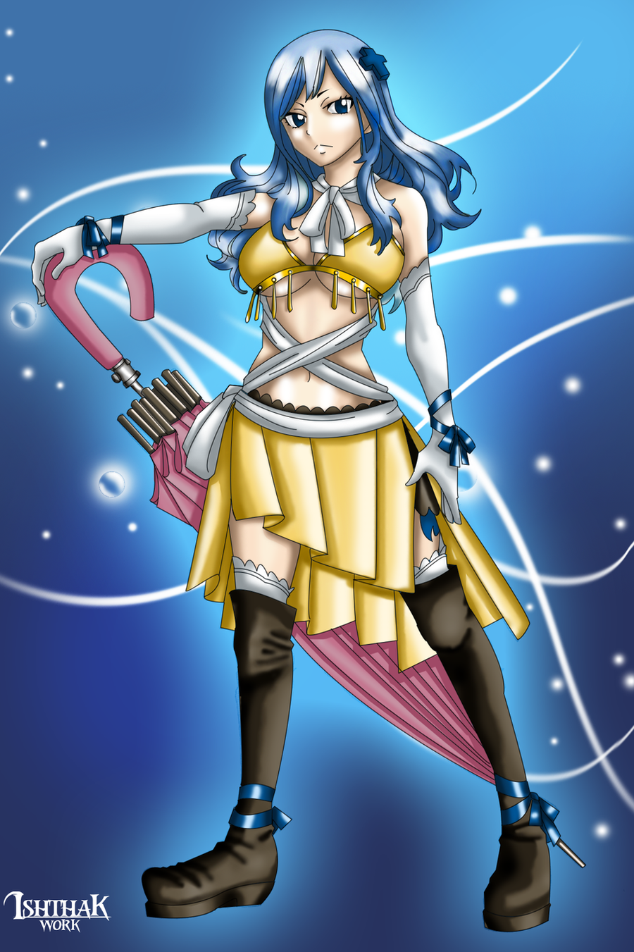 Juvia lockser fantasia artbook by ishthak on deviantart - Fairy tail fantasia ...