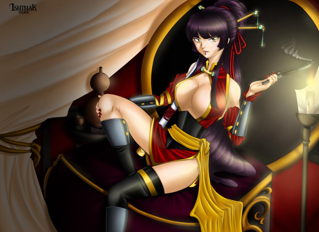 Pirate Queen Kagura by Ishthak